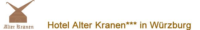 Hotel Alter Kranen Würzburg